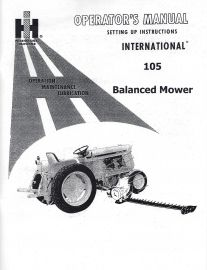 Binder Books: IH Cub Tractor Manuals