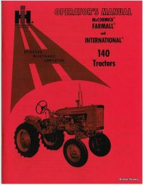 IH Farmall 240 Tractor Preventive Maintenance /& Service Shop Manual Manuals 2