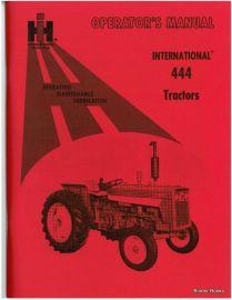 binder books international 444 tractor operator s manual rh binderbooks com Case 444 Garden Tractor Ford 600 Tractor Parts Diagram