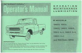 INTERNATIONAL SHOP MANUAL TRUCK SERVICE REPAIR BOOK TRAVELALL PICKUP 1975 1972