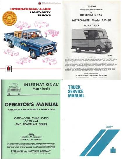 Binder Books: IH Truck Manual