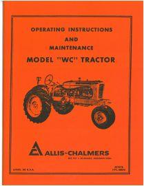 binder books allis chalmers model wc tractor operator s manual rh binderbooks com allis chalmers wd repair manual allis chalmers wd factory service manual