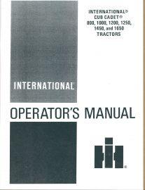 cub cadet 1450 manual