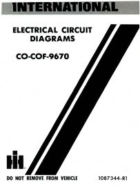 Binder Books: 1989-2000 Circuit DiagramsBinder Books