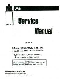 Binder Books: IH Numbered Series Service Manuals