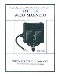 Wico Type EK Magneto Instruction