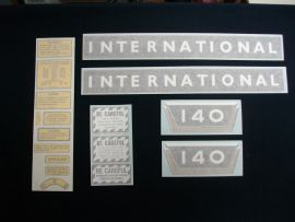 Business & Industrial International 2424 Hood Decals And More