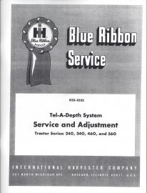 Binder books ih numbered series manuals tel a depth system service adjustment for farmall ih 240 340 fandeluxe Choice Image