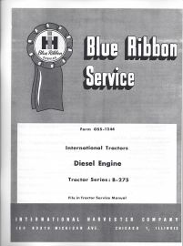 Binder books ih numbered series manuals ih model b 275 engine service for bd 144a engine fandeluxe Choice Image