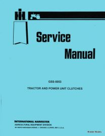 clutch service for mccormick deering 15-30, 22-36, model 20,