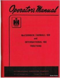 Binder Books: IH Numbered Series Manuals on