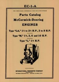 Binder Books: Stationary Engine Manuals
